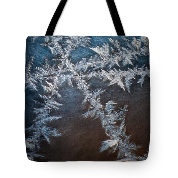 Ice Crossing Tote Bag