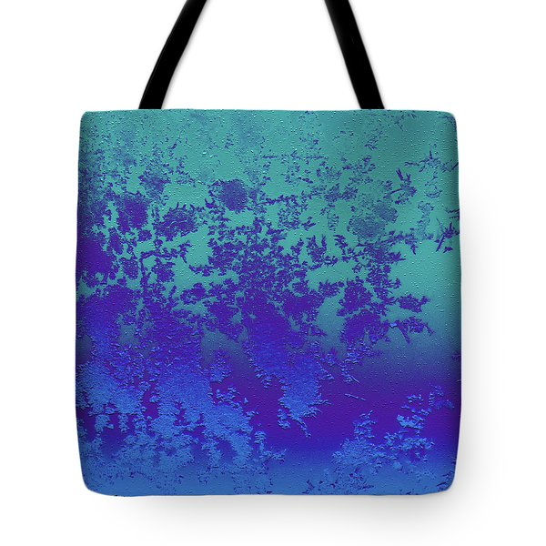Ice Crystals At 25,000 Feet Tote Bag