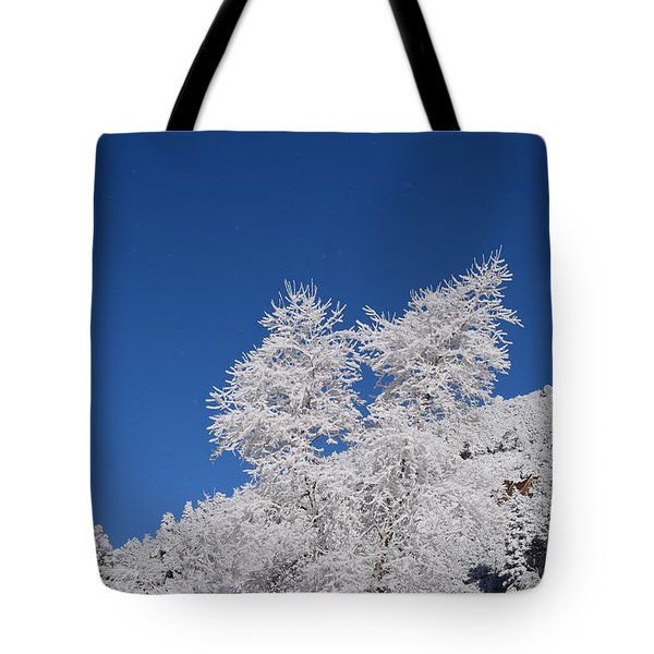 Ice Crystals Ute Pass Cos Co Tote Bag