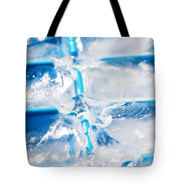 Ice Cubes Tote Bag by Carlos Caetano