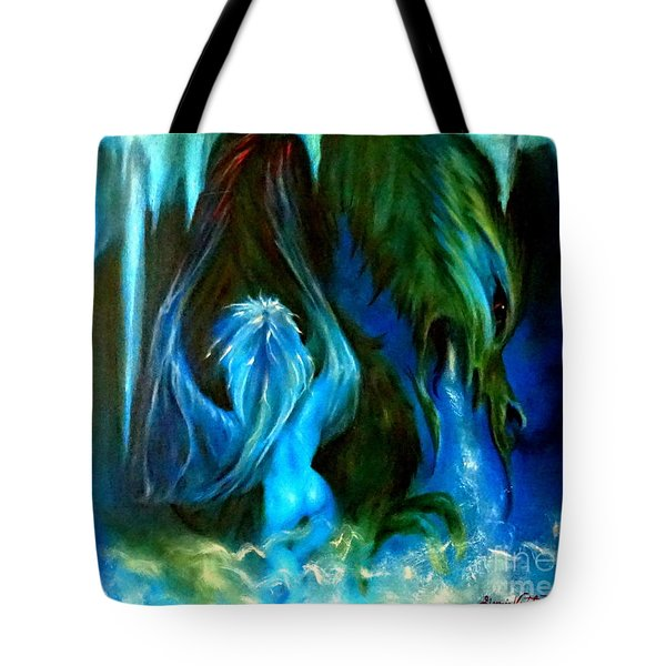 Dance Of The Winged Being Tote Bag
