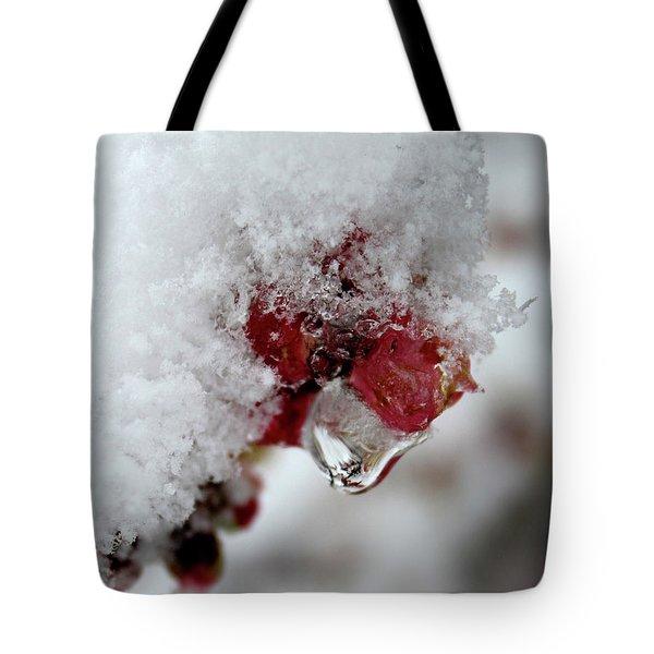 Ice Drip Tote Bag