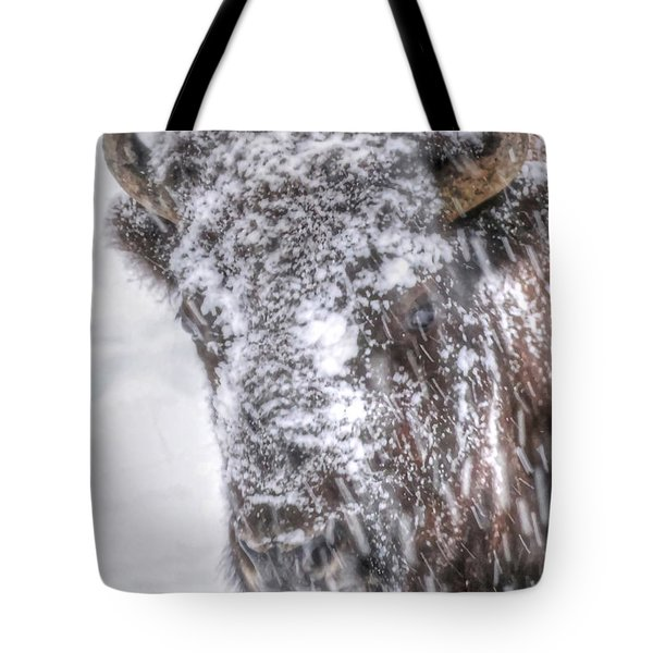 Ice Faced Tote Bag