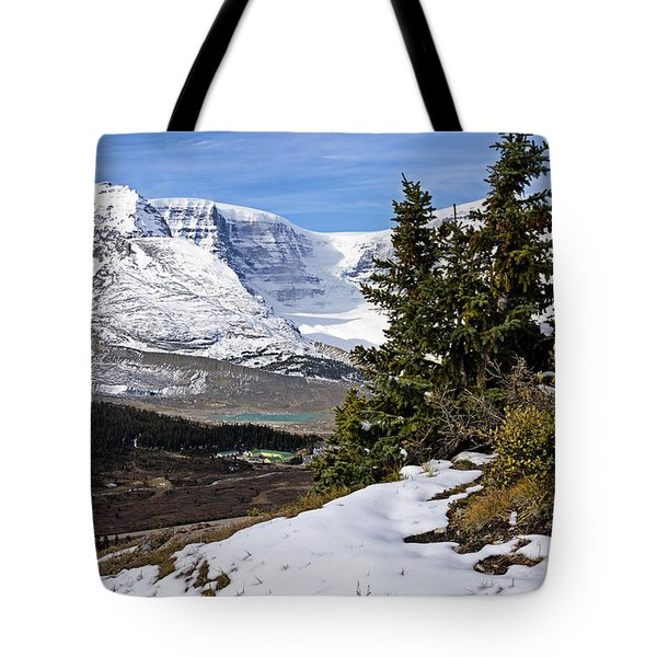 Tote Bag featuring the photograph Ice Fields by John Gilbert