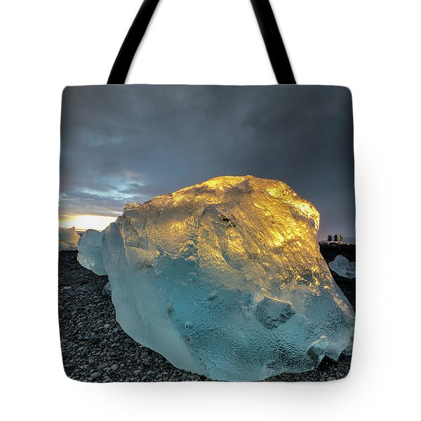 Ice Fish Tote Bag