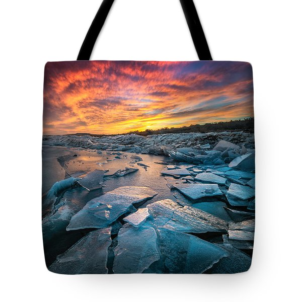 Ice Floe Tote Bag