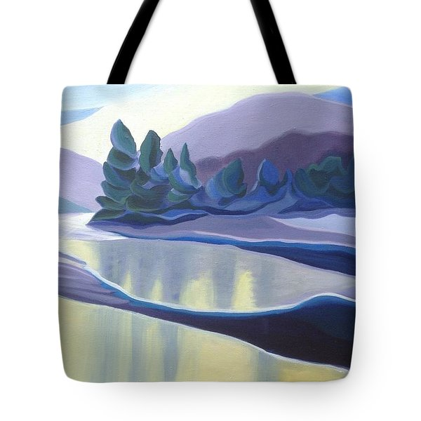 Ice Floes Tote Bag