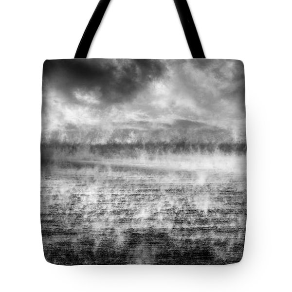 Ice Fog  Tote Bag