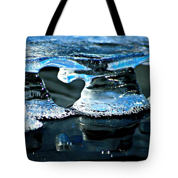 Ice Formation 10 Tote Bag