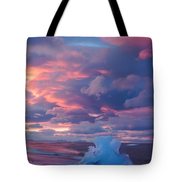 Ice Ignites Tote Bag