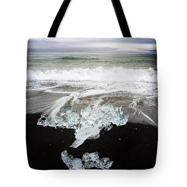 Ice In Iceland Tote Bag
