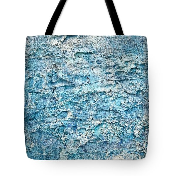 Tote Bag featuring the painting Ice Melt  # 22617 by Robert Anderson