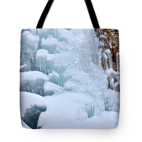 Ice Mosaic Tote Bag