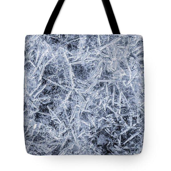 Ice On Minnehaha Creek 3 Tote Bag