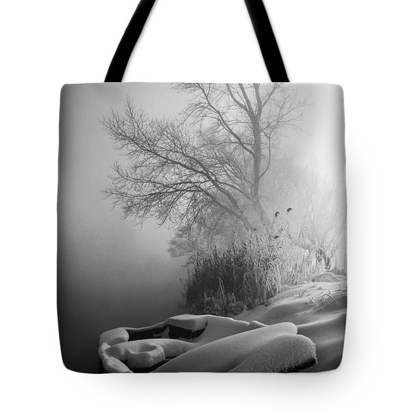 Ice Pier Tote Bag