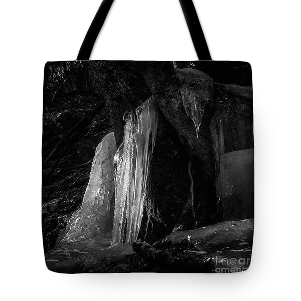 Icicle Of The Forest Tote Bag by Tatsuya Atarashi