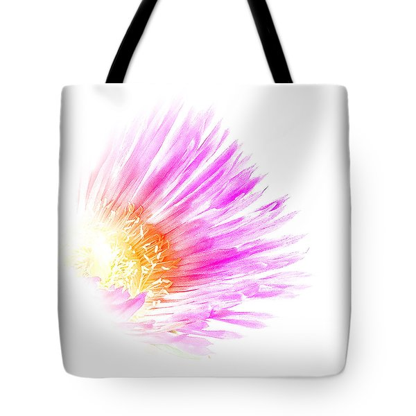 Ice Plant Flower Tote Bag