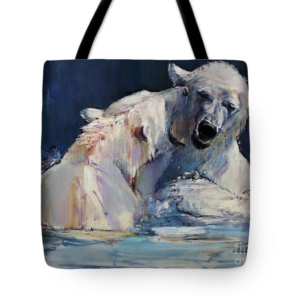 Ice Play Tote Bag