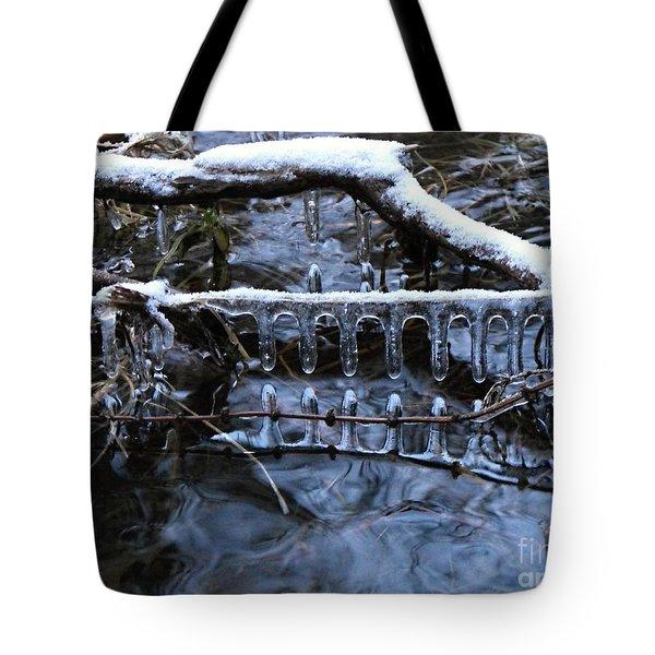 Ice Rake Tote Bag