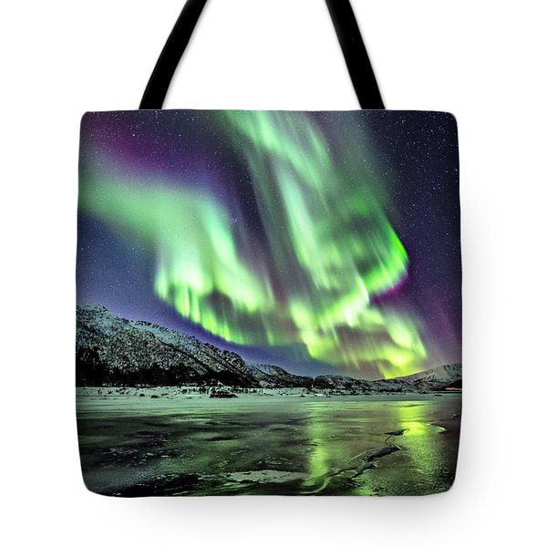 Ice Reflection I Tote Bag