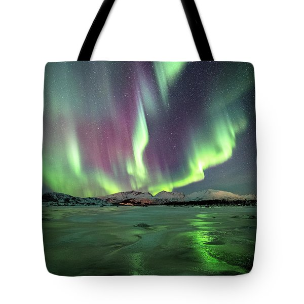 Ice Reflection II Tote Bag