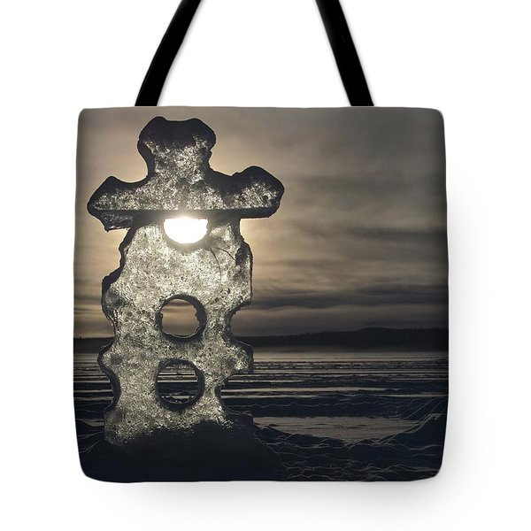 Ice Sculpter Tote Bag
