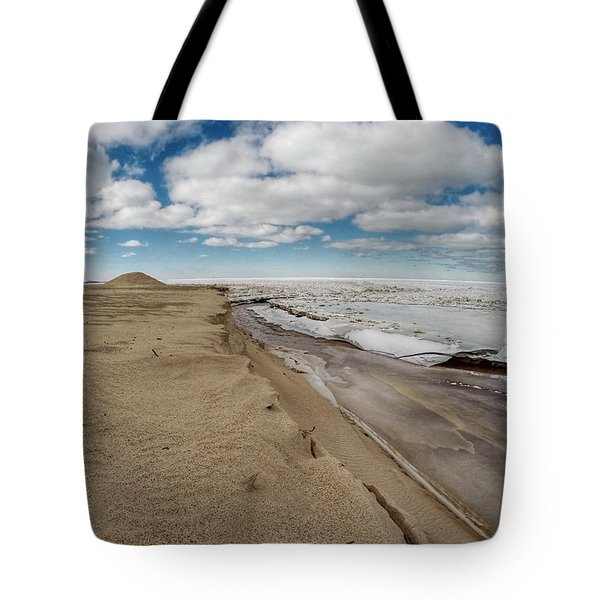 Ice Shelf Tote Bag
