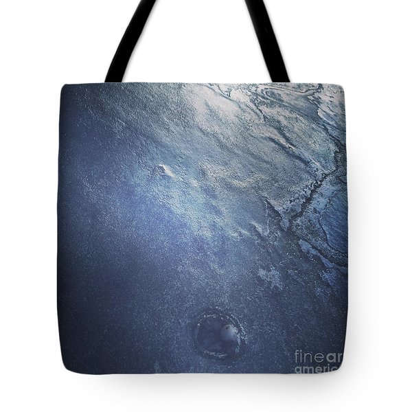 Ice Texture Tote Bag
