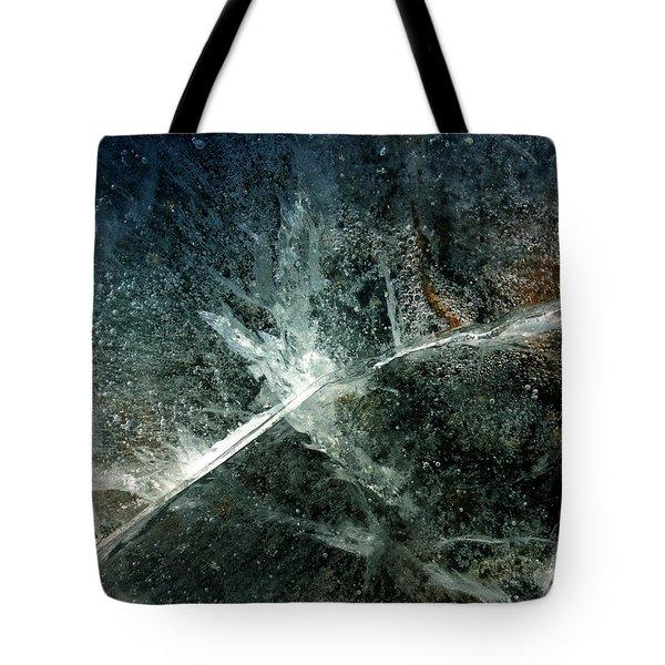 Ice Winter Denmark Tote Bag
