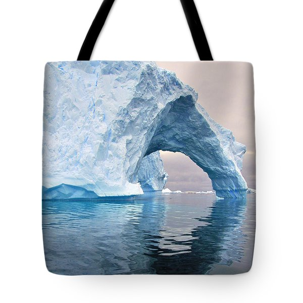 Iceberg Alley Tote Bag