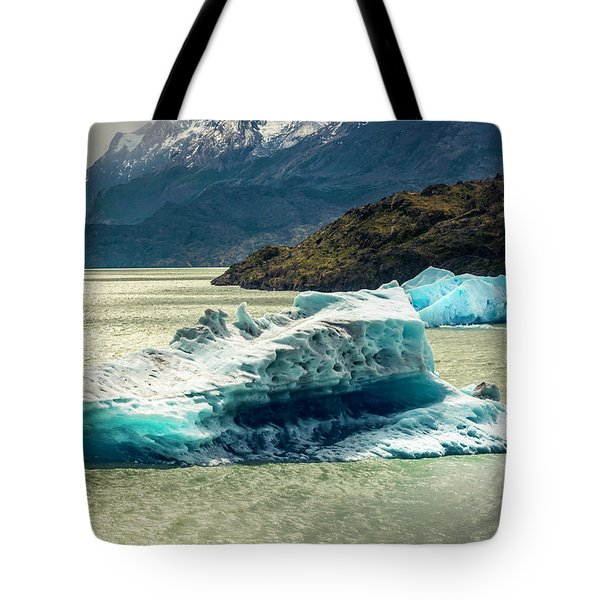 Tote Bag featuring the photograph Iceberg by Andrew Matwijec