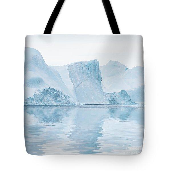 Iceberg In Disko Bay Greenland Tote Bag