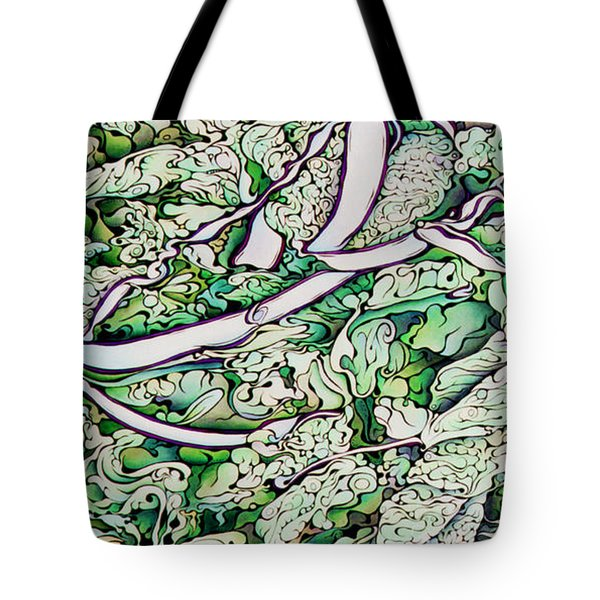 Iceberg Introspection Tote Bag