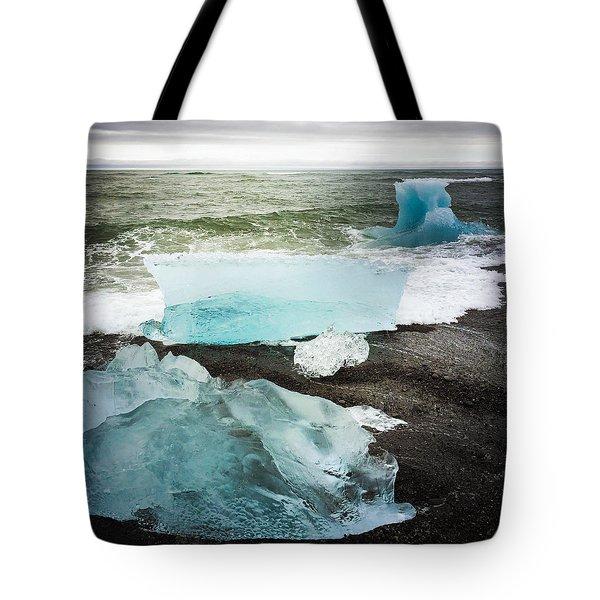 Iceberg Pieces Jokulsarlon Iceland Tote Bag
