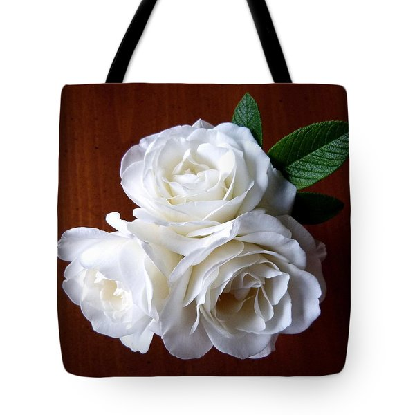 Iceberg Rose Trio Tote Bag