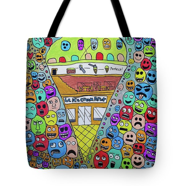 Icecream Parlor Tote Bag
