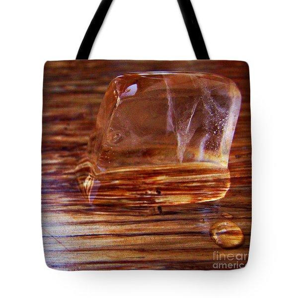 Icecube Trail Tote Bag