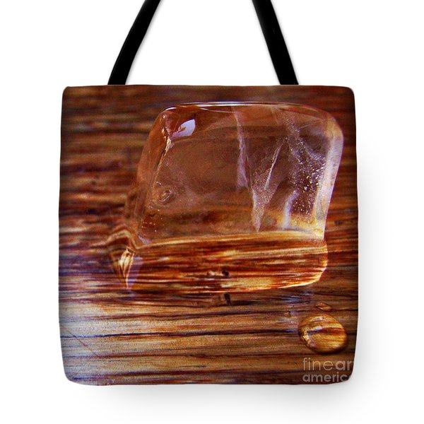 Icecube Trail Tote Bag by Vanessa Palomino