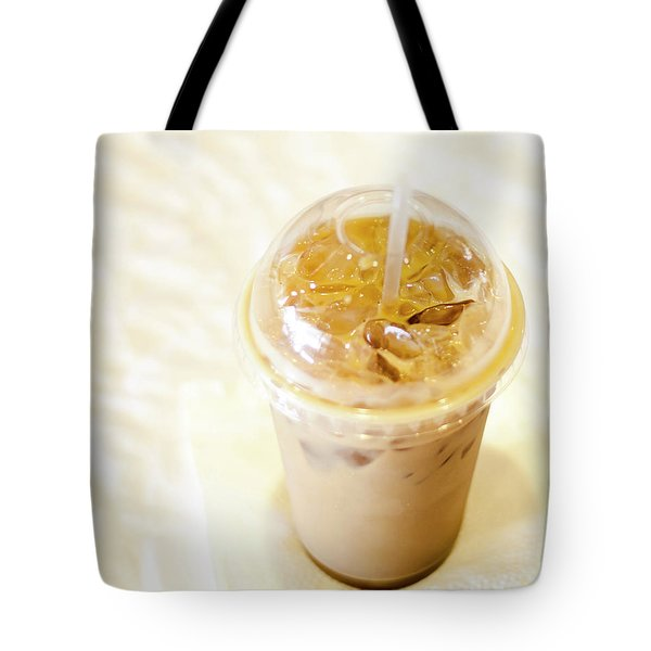 Iced Coffee 1 Tote Bag