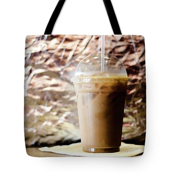 Iced Coffee 2 Tote Bag