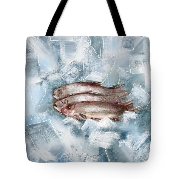 Iced Fish Tote Bag