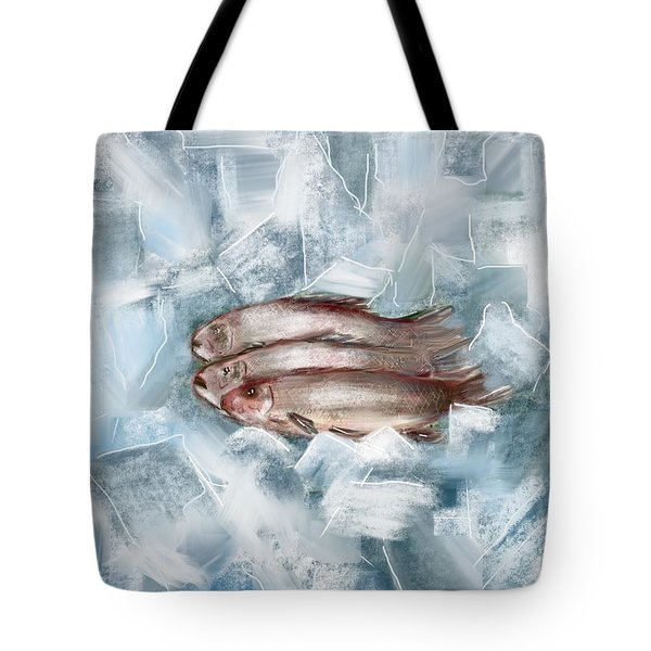 Iced Fish Tote Bag