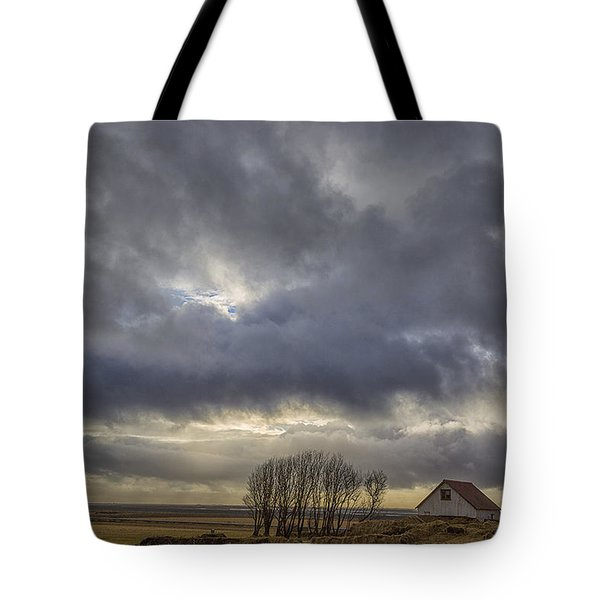 Iceland Buildings Tote Bag by Kathy Adams Clark