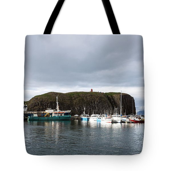 Iceland Fisherman Harbor Tote Bag