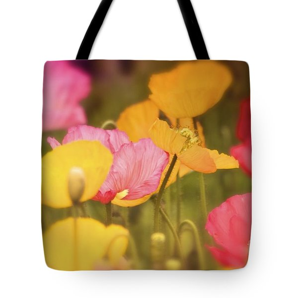 Iceland Poppies Warmly Tote Bag