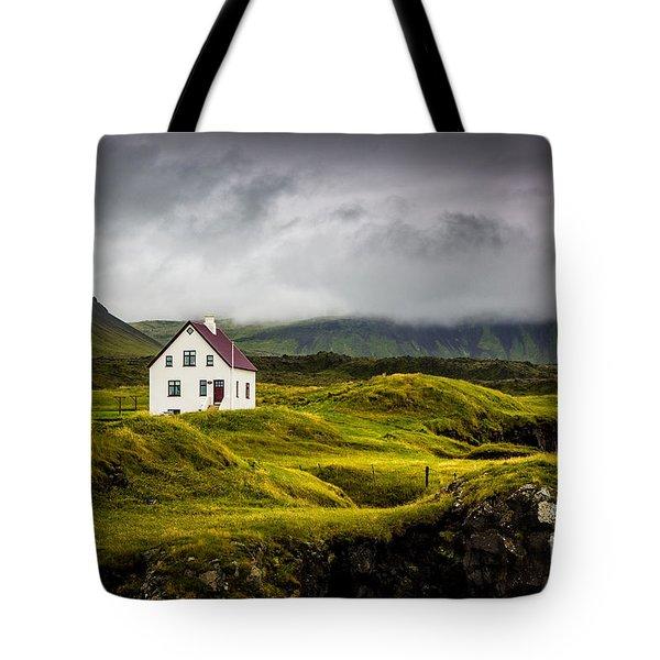 Iceland Scene Tote Bag