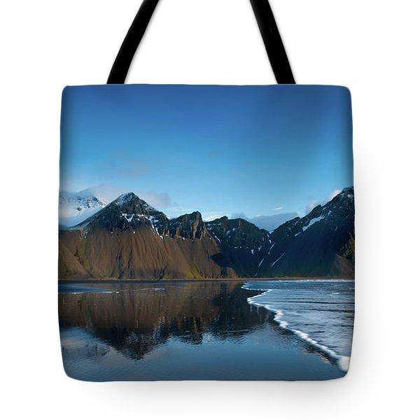 Iceland Sunrise Tote Bag