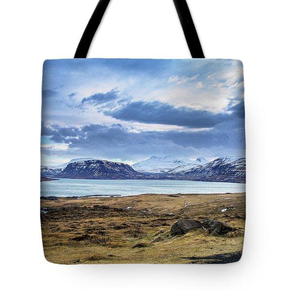 Icelandic Blues Tote Bag