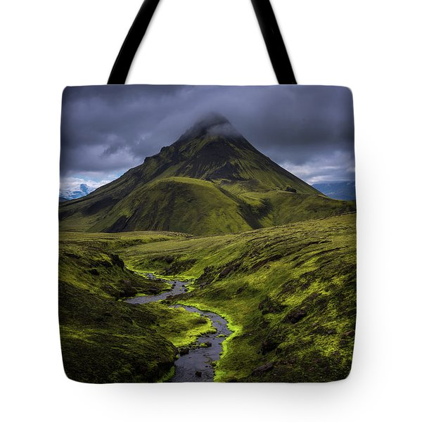 Icelandic Highlands Tote Bag