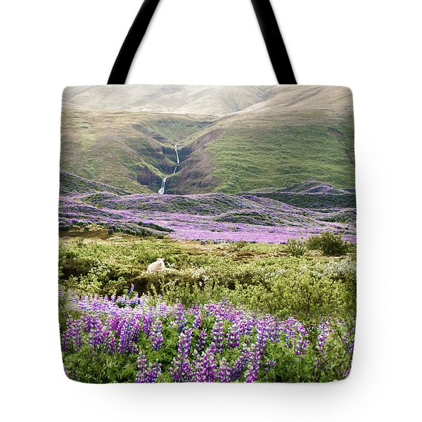 Icelandic Treasures Tote Bag by William Beuther